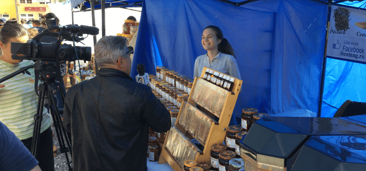 Targul apicol Sighisoara 14-15 Septembrie 2019